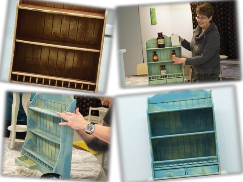 "Workshop ""Restyling meubels met krijtverf"" met D&E Shabby Chic ..."