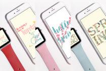 Apple Watch wallpaper - Lente - debbieschrijft.nl