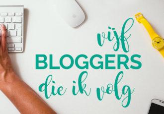 #30DayBlogChallengeNL 5 bloggers die ik volg - debbieschrijf.nl