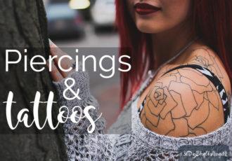 #30DayBlogChallenge - piercings en tattoos