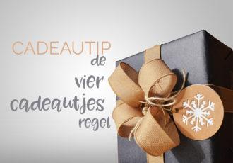Cadeautip: de vier cadeautjes regel