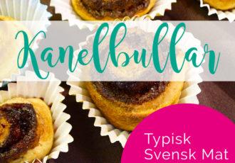 Typisk Svensk Mat: kanelbullar - debbieschrijft.nl