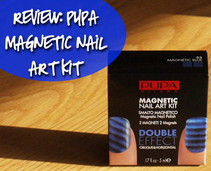 Pupa magnetic nail art kit