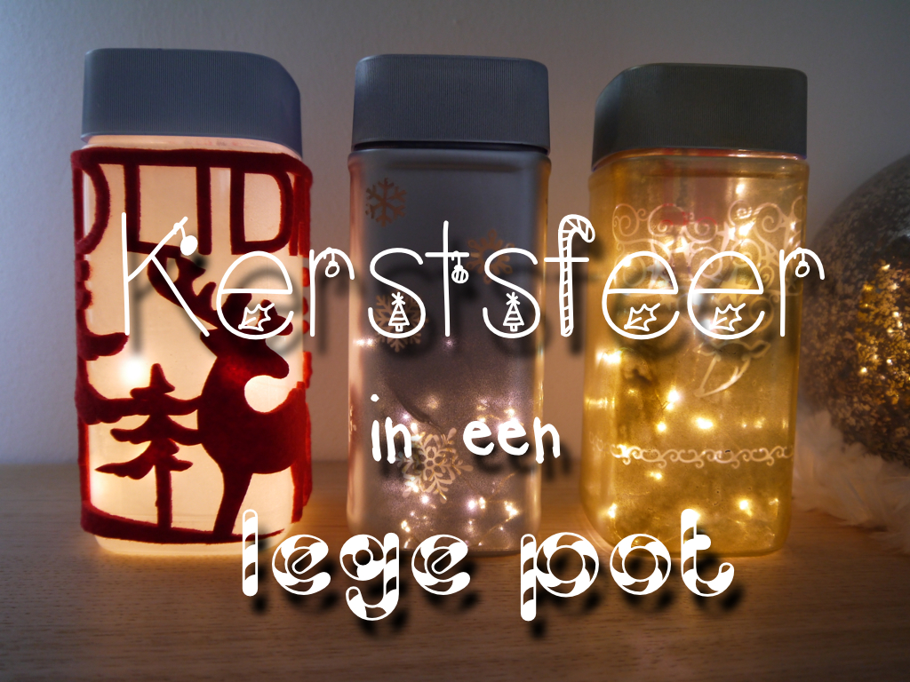 DIY: kerstsfeer in een lege pot