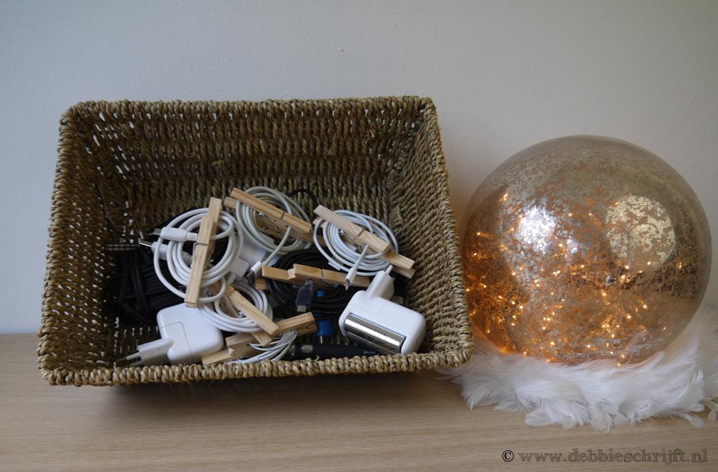 DIY: breng orde in chaos met wasknijpers
