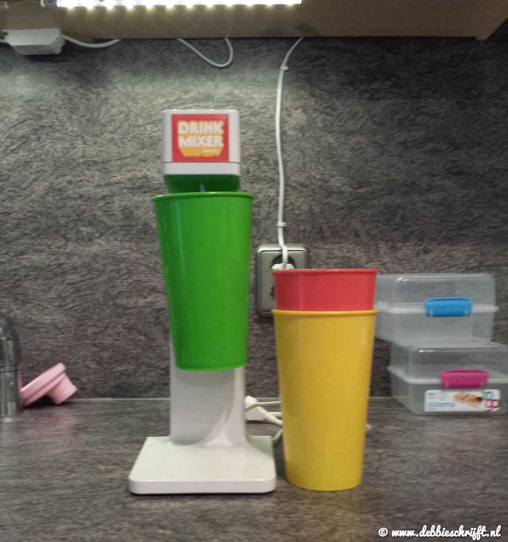 De Drinks Mixer, gescoord op de vrijmarkt