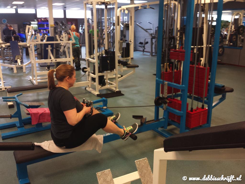 Seated row; 30 kilo