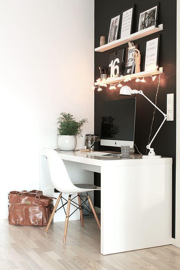 lichtidee - witte bureaulamp