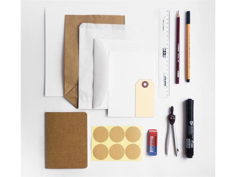 Inhoud Handlettering DIY-pakket van Imakin