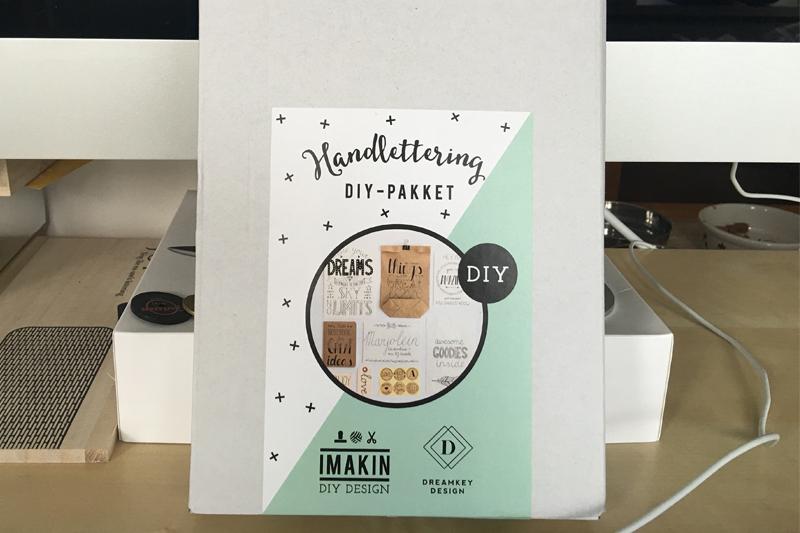 Handlettering DIY-pakket van Imakin