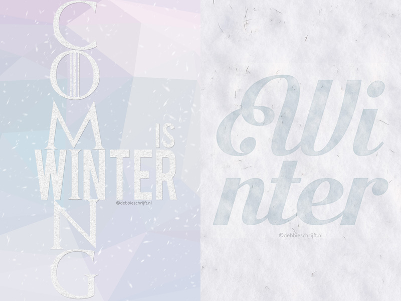 Wallpaper Wednesday: winter