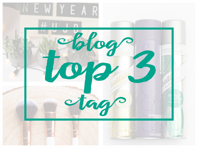 Blog Top 3 Tag