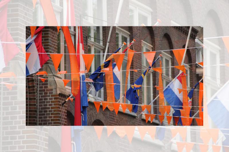 Koningsdag 2016 - Oranje versierd
