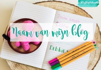 Naam van mijn blog - #30DayBlogChallengeNL