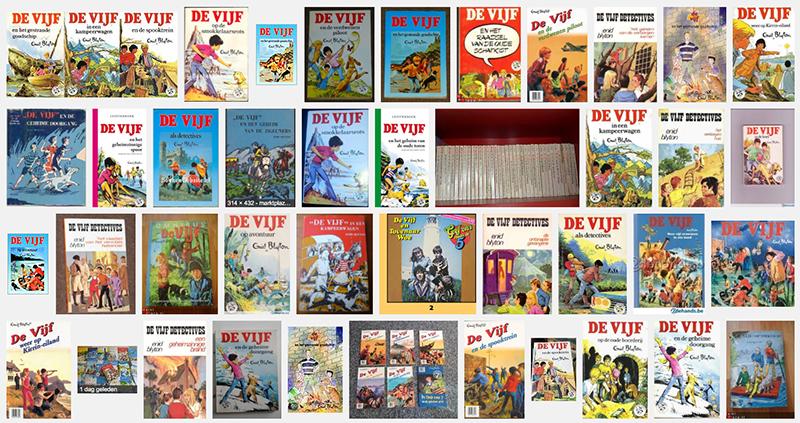 Mijn favoriete kinderboeken: De Vijf