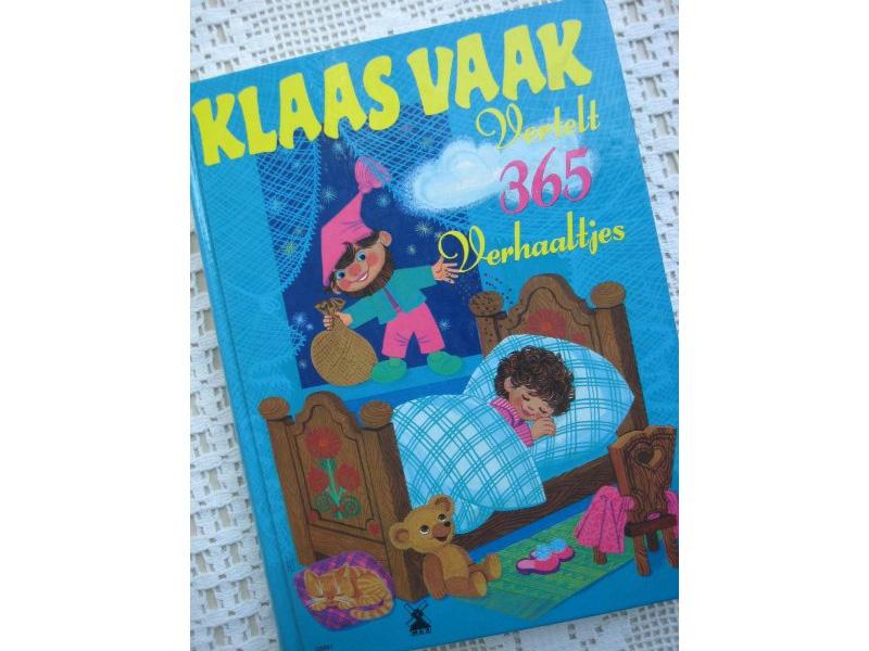Mijn favoriete kinderboeken: Klaas Vaak vertelt 365 verhaaltjes