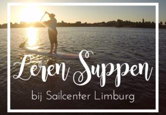 Leren suppen bij Sailcenter Limburg