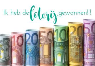 Ik heb de loterij gewonnen! #30DayBlogChallengeNL - ©debbieschrijft.nl