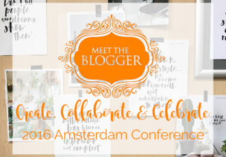 Meet the Blogger 2016 Amsterdam Conference