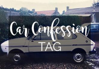 Car Confession Tag - ©debbieschrijft.nl