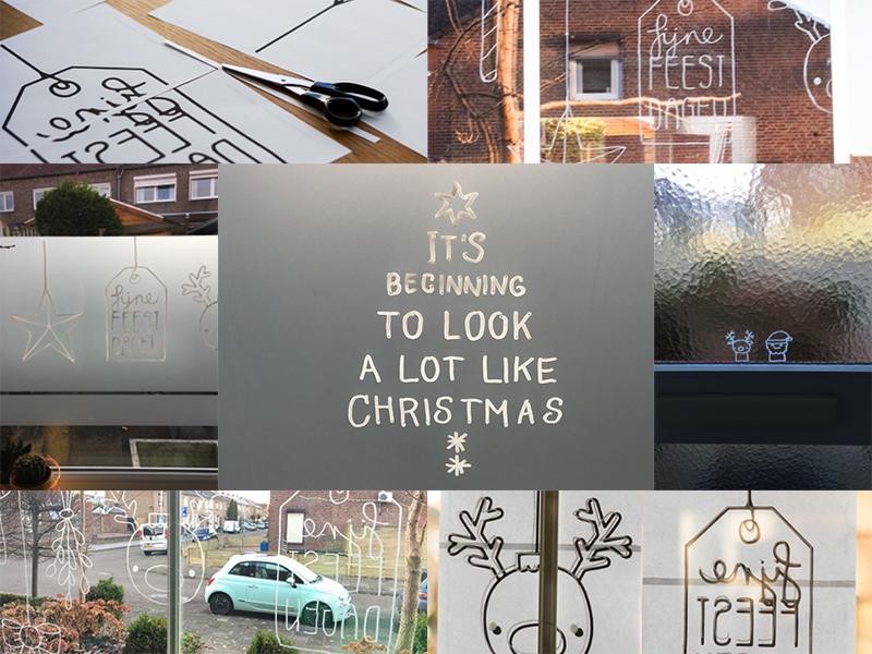 En dan is het zondag #15: zombies, raamtekeningen, kersttruien en een gastcollege - ©debbieschrijft.nl