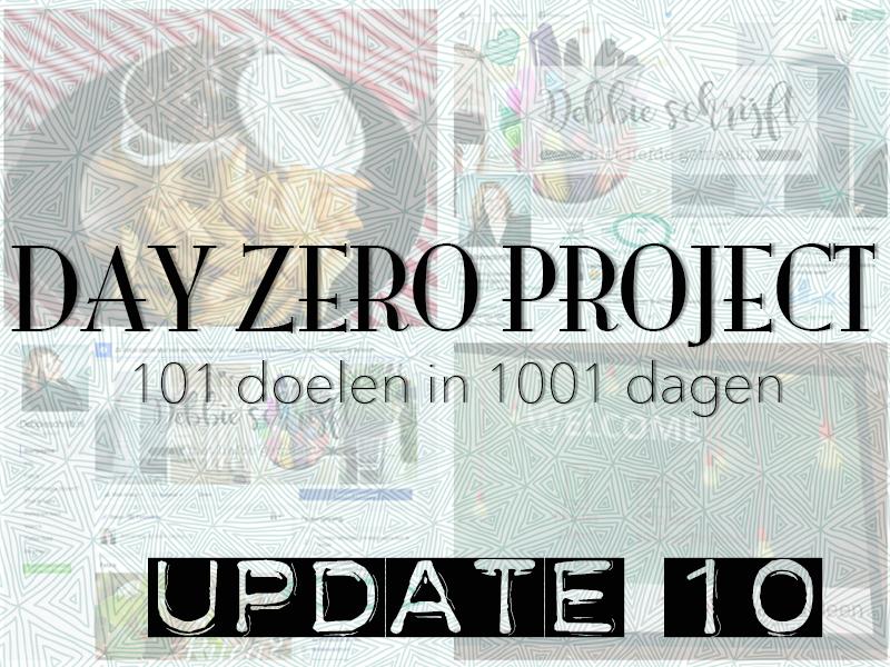 Day Zero Project update #10 | ©debbieschrijft.nl