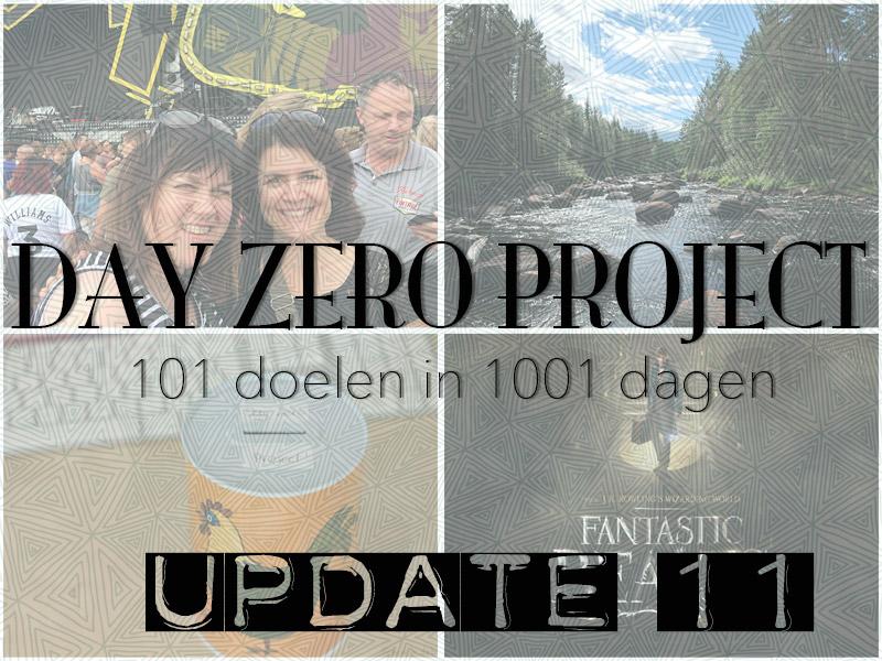Day Zero Project update #11 ©debbieschrijft.nl