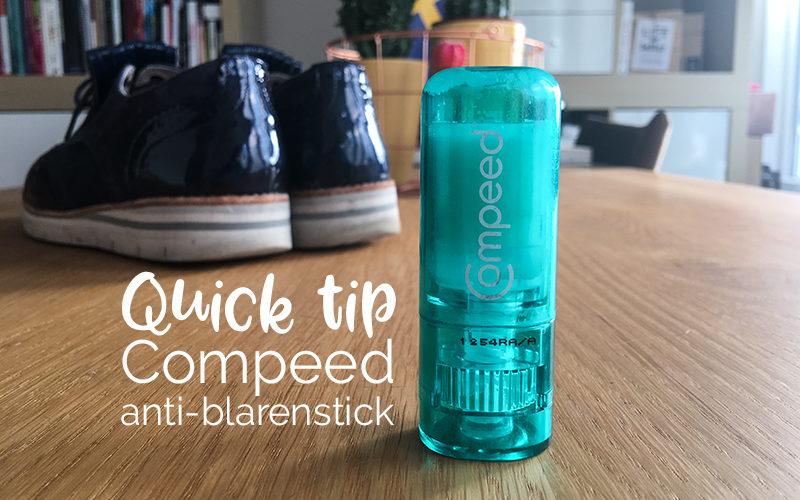 Quick tip: Compeed anti-blarenstick | ©debbieschrijft.nl